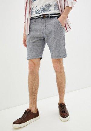 Шорты Indicode Jeans. Цвет: голубой