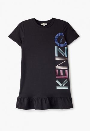 Платье Kenzo. Цвет: черный