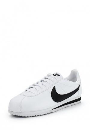 Кроссовки Nike MENS CLASSIC CORTEZ LEATHER SHOE. Цвет: белый