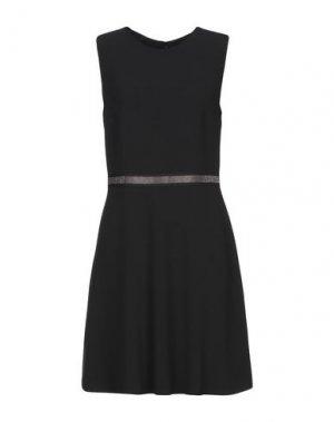 Платье до колена ATOS LOMBARDINI. Цвет: черный