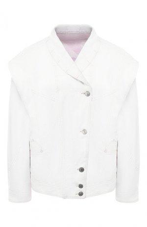 Джинсовая куртка Isabel Marant. Цвет: белый