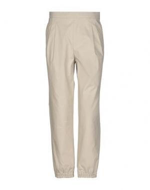 Повседневные брюки KRIS VAN ASSCHE. Цвет: песочный