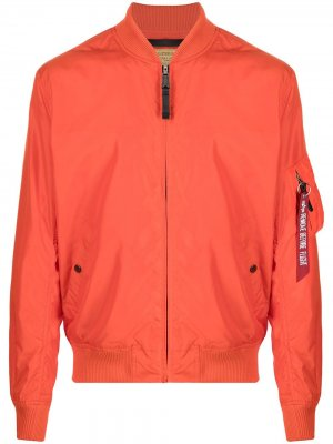 Бомбер MA-1 TT Alpha Industries. Цвет: оранжевый