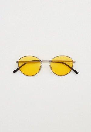 Очки солнцезащитные Ray-Ban® RB3681 004/Q1. Цвет: серый