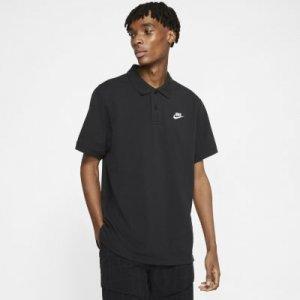 Мужская рубашка-поло Sportswear - Черный Nike