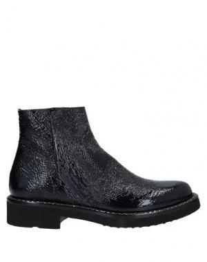 Полусапоги и высокие ботинки LAURA BELLARIVA. Цвет: темно-синий