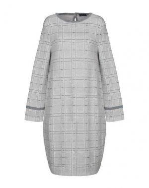 Короткое платье ANNECLAIRE. Цвет: светло-серый