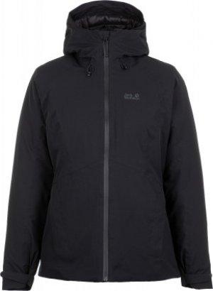 Куртка утепленная женская Jack Wolfskin Argon, размер 44. Цвет: черный