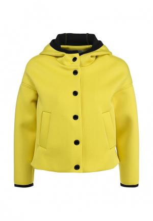 Куртка Pinko. Цвет: желтый