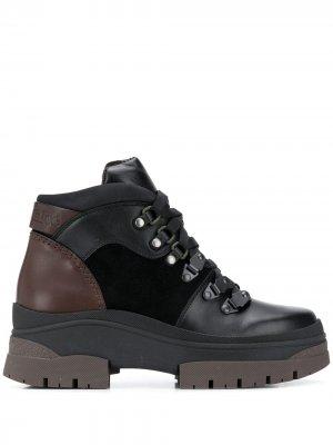 Ботинки хайкеры с контрастными вставками See by Chloé. Цвет: черный