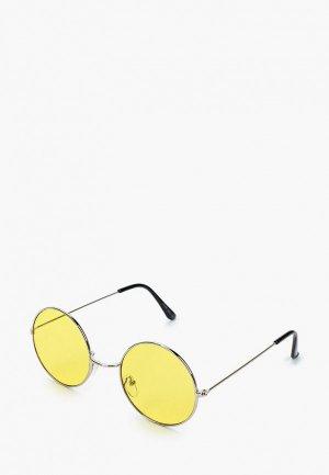 Очки солнцезащитные Only & Sons. Цвет: желтый
