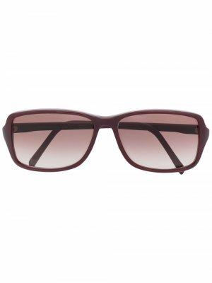 Солнцезащитные очки 1970-х годов с эффектом градиента Yves Saint Laurent Pre-Owned. Цвет: красный