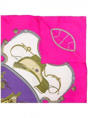 Платок Springs 1990-х годов Hermès. Цвет: разноцветный