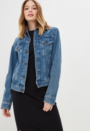 Куртка джинсовая Cheap Monday. Цвет: голубой