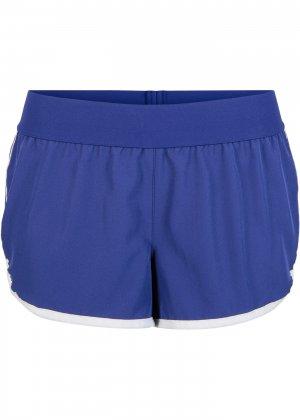Пляжные шорты bonprix. Цвет: синий
