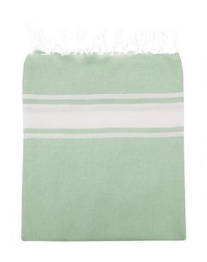 Пляжное полотенце ESPADRIJ. Цвет: светло-зеленый