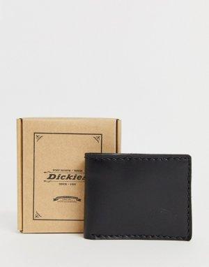 Черный кожаный бумажник Coeburn Dickies