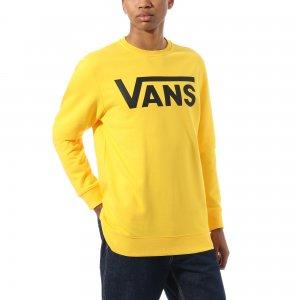 Толстовка Vans Classic Crew. Цвет: желтый
