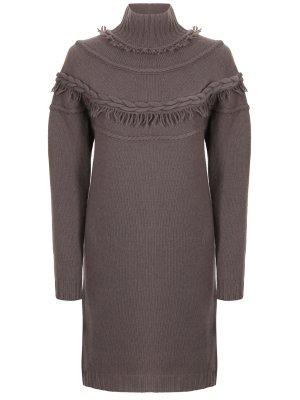 Вязаное платье AGNONA