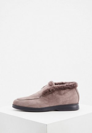 Ботинки Nando Muzi. Цвет: серый