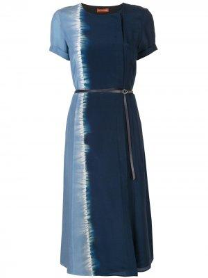 Платье миди Nori Altuzarra. Цвет: синий