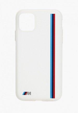 Чехол для iPhone BMW 11, M-Collection Translucent silicone Vert stripe Transp. Цвет: прозрачный