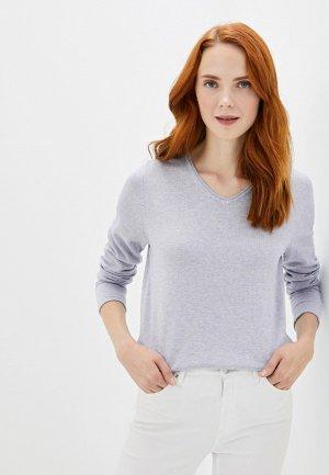 Пуловер Sela. Цвет: фиолетовый