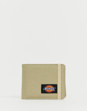 Светло-бежевый бумажник Williamsville Dickies. Цвет: светло-бежевый