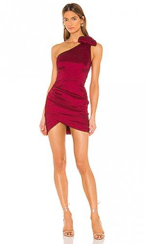 Платье malva NBD. Цвет: красный