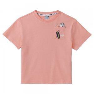 Детская футболка x PEANUTS Kids Tee PUMA. Цвет: розовый