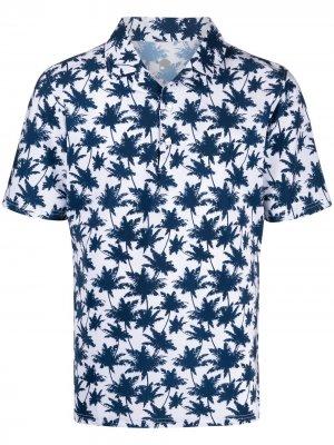 Рубашка поло с принтом Hydrogen. Цвет: синий
