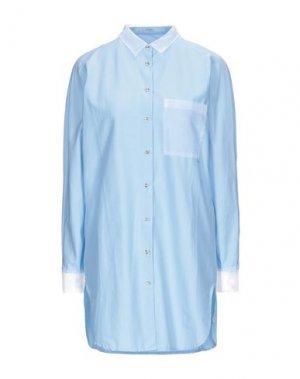 Pубашка GUESS. Цвет: небесно-голубой