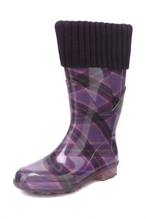 Сапоги G&G. Цвет: фиолетовый