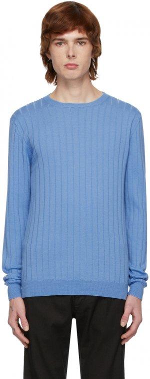 Blue Knit Sweater Barena. Цвет: 110 cielo