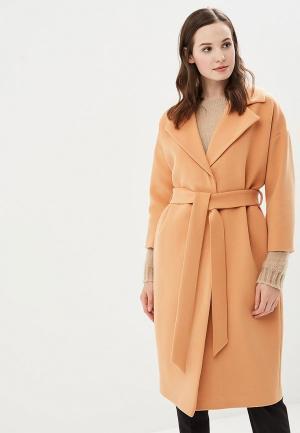 Пальто Ruxara MP002XW1GOAU. Цвет: оранжевый