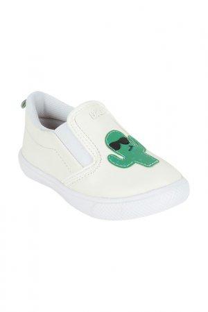Слипоны Bibi. Цвет: белый, зеленый, черный