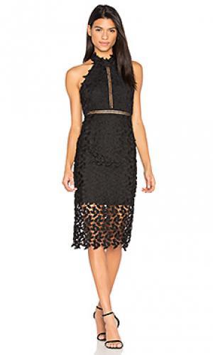 Платье gemma Bardot. Цвет: черный