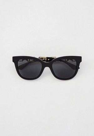 Очки солнцезащитные Versace VE4394 GB1/87. Цвет: черный
