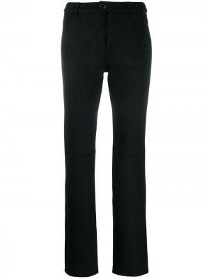 Расклешенные брюки LIU JO. Цвет: черный