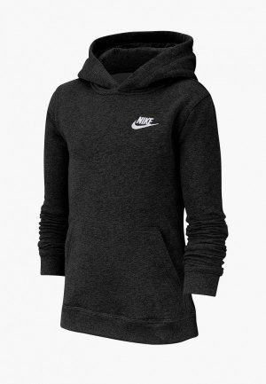 Худи Nike SPORTSWEAR BOYS PULLOVER HOODIE. Цвет: черный
