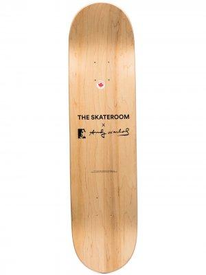 Дека для скейтборда Andy Warhol Campbells The Skateroom. Цвет: нейтральные цвета