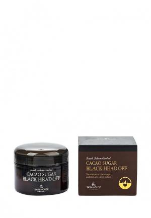 Скраб для лица The Skin House против черных точек с коричневым сахаром и какао, 50 мл