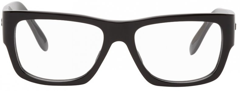 Black Nomad Wayfarer Glasses Ray-Ban. Цвет: 2000 black