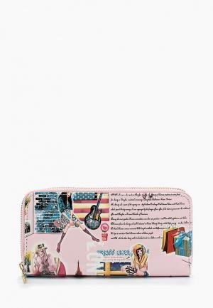 Кошелек Elisabeth. Цвет: розовый