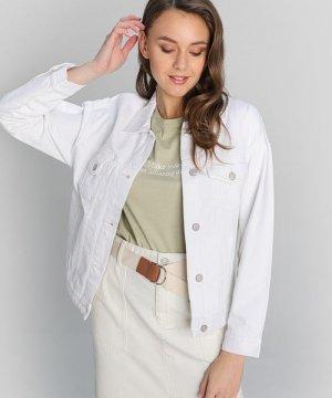 Белая джинсовая куртка O`Stin. Цвет: молочный