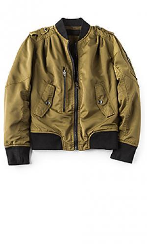 Куртка бомбер BLANKNYC. Цвет: оливковый