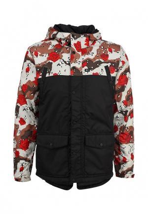 Куртка утепленная K1X fullcourt mountain parka. Цвет: черный