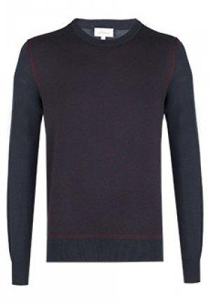 Пуловер BRIONI. Цвет: синий