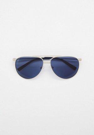 Очки солнцезащитные Thom Richard поляризованные. Цвет: серебряный