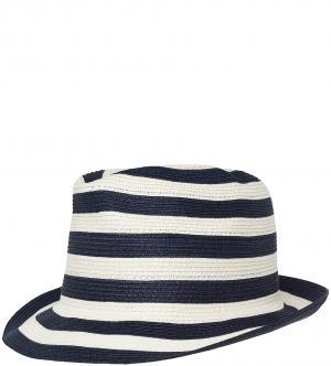 Шляпа Marina Yachting. Цвет: молочный, полоска, синий